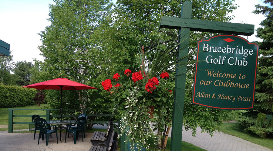 Bracebridge Golf Course Patio
