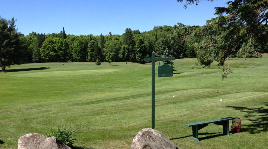 Bracebridge Golf Course Tee Box